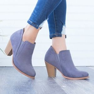 Shoes - Gray bootie